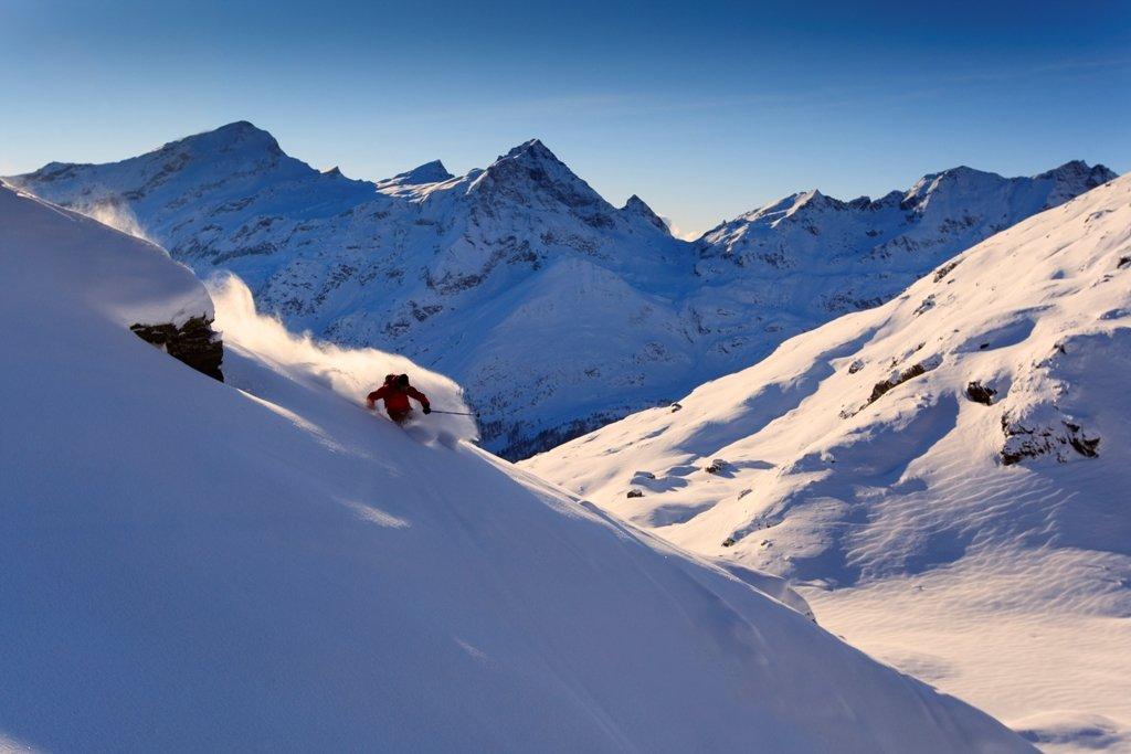 Freeride nel comprensorio del Monterosa Ski - © Monterosa Ski