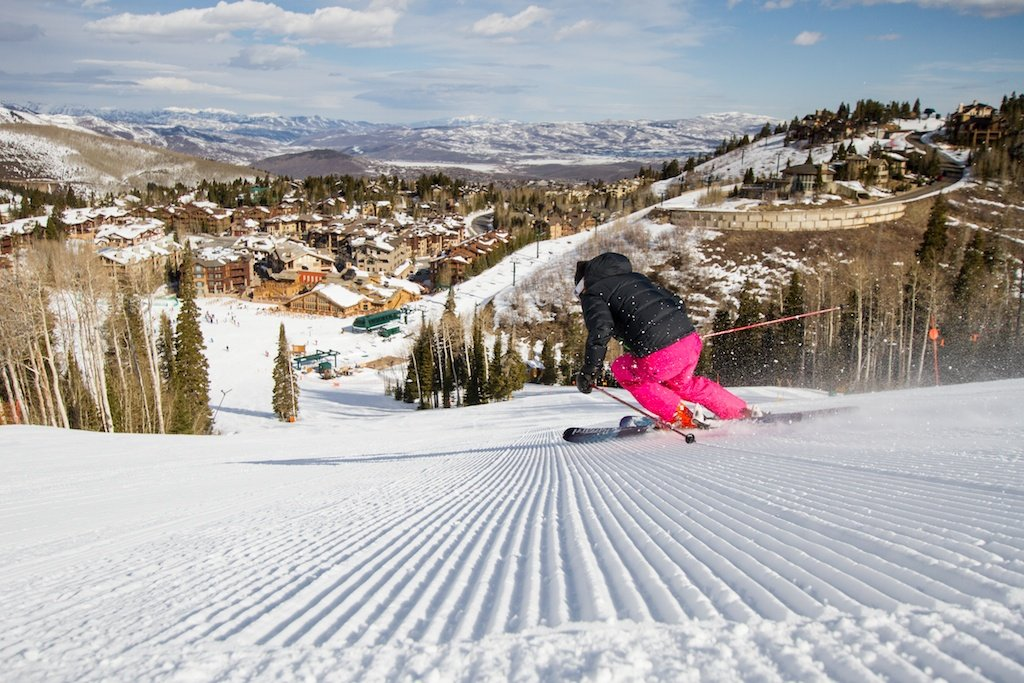 Fresh tracks at Deer Valley Ski Resort - ©Liam Doran