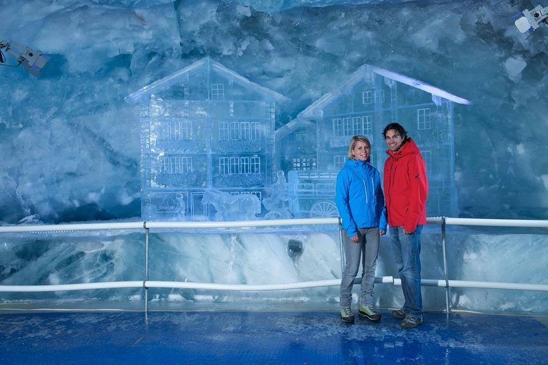The glacier palace in Zermatt - ©Zermatt