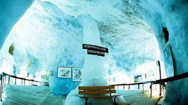 The ice pavillion in Saas-Fee - ©MySwitzerland.com/Schweiz Tourismus