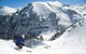 Skifahrer in Telluride im Revelation Bowl