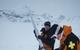 Steve Ruskay with avalanche gun - © Steve Ruskay