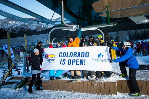 Ski Season Arrives Early at A-Basin- ©Arapahoe Basin Ski Area