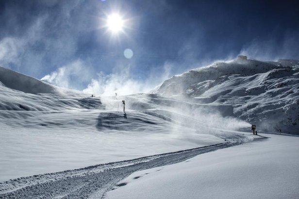 Davos, Schweiz: Glücksmomente im Pulverschnee