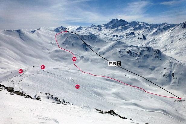 Nowa trasa zjazdowa z Piz Val Gronda ruszy już w grudniu 2013