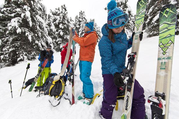 La liberté de pouvoir rider loin des pistes grâce aux skis de rando
