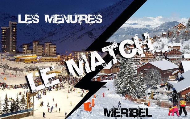 Comparatif entre les stations de ski de Meribel et des Menuires