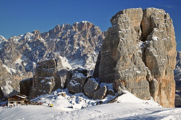 Scenic views at the top of Hidden Valley, Cortina, Italy  - © D.G Bandion