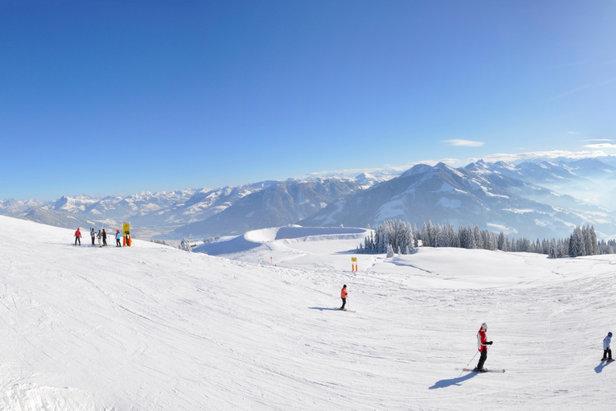 Wide-open runs of SkiWelt, Austria  - © SkiWelt Wilder Kaiser Brixental