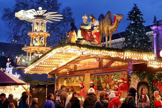 Top 10 stazioni sciistiche dove trascorrere Natale & Capodanno- ©Marktamt Karlsruhe