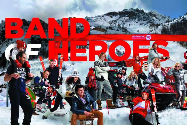 BAND OF HEROES : 23 champions réunis par Rossignol pour un hymne au ski de compétition...