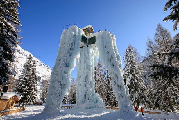 Sensatie op en onder het ijs in Savoie Mont Blanc ©Monica Delmasso