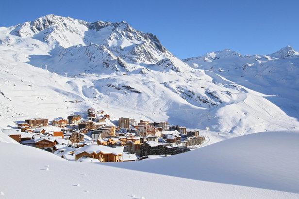 La neige est déjà bien présente sur le domaine skiable de Val Thorens qui ouvrira dès ce week-end