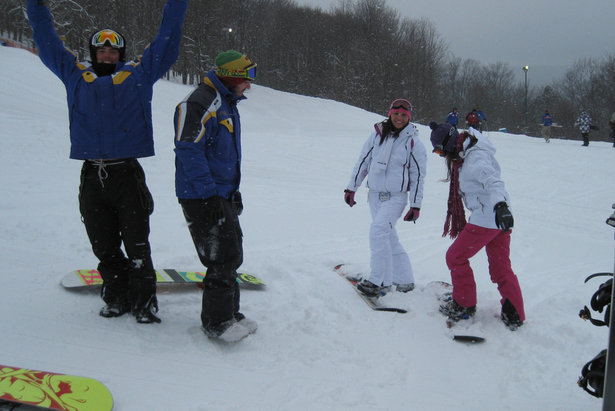 Learning to slide on snow is a sport worth getting stoked about. - ©Canaan Valley