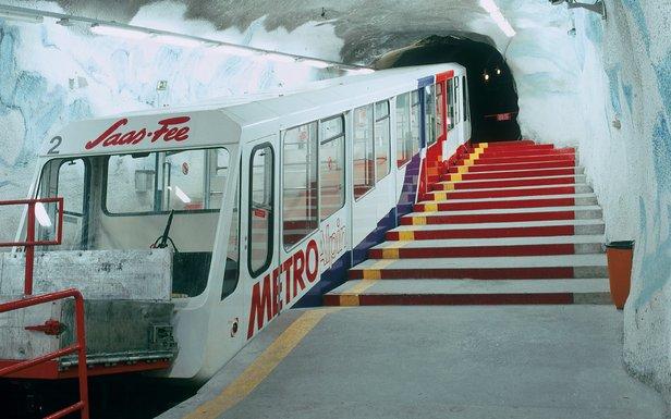 Metro Alpin - Saas-Fee  - © SAAS-FEE