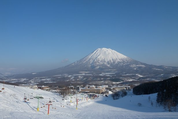 Spectacular views of Mount Yotei from Niseko ski resort, Japan.   - © Rob Freeman@Skiwrite