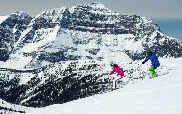 Combining an astounding annual snowfall and a seven month season, Sunshine Village takes winter to another level.  - © Travel Alberta