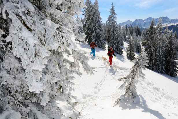Rocky Reit im Winkl: Viel Winterspaß für wenig Flocken ©Norbert Eisele-Hein