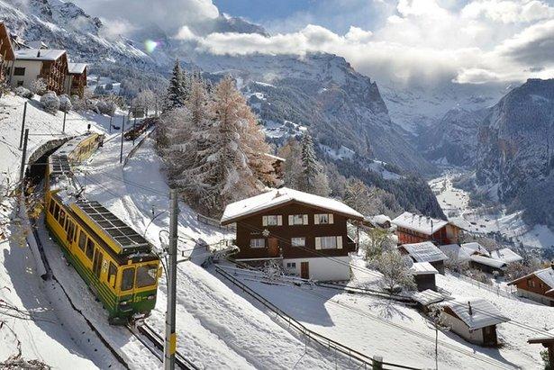 Ferrovia Wengen. Credit Wenger-Lauberhorn