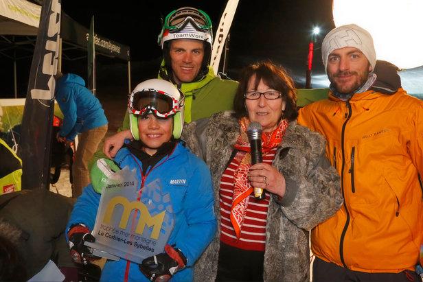 Les grands vainqueurs du Trophée Mer Montagne 2014 : le duo Aurélien Ducroz / Eric Peron
