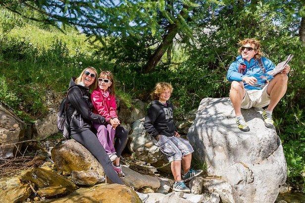 En été aussi, Val d'Isère propose d'inombrables activités sportives, ludiques ou culturelles...