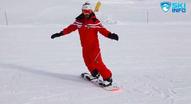 Corso di Snowboard - Lezione #6 - Diagonale in Front e in Back
