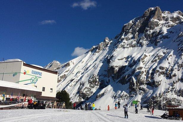 Skiarea Ciampac, 17 Marzo 2014