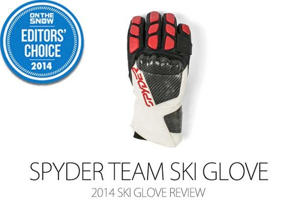 2014 Men's Ski Glove Editors' Choice: Spyder Team Ski Glove- ©Julia Vandenoever