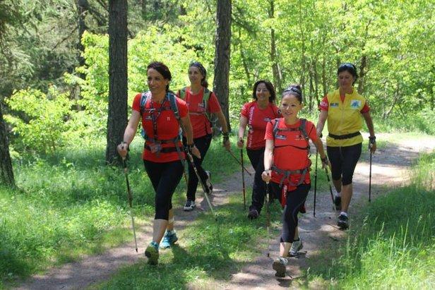 Torgnon, Avvicinamento al Nordic Walking