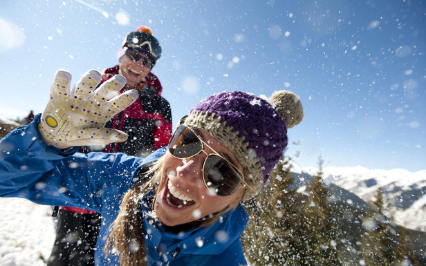 Why Aspen is the Place to be for Spring Skiing- ©Aspen/Snowmass