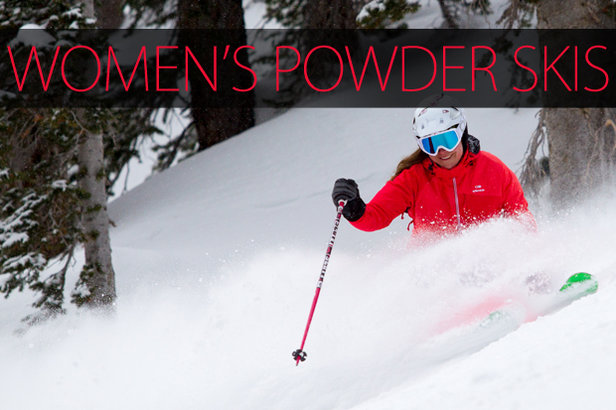 Women's 2015 Powder Skis