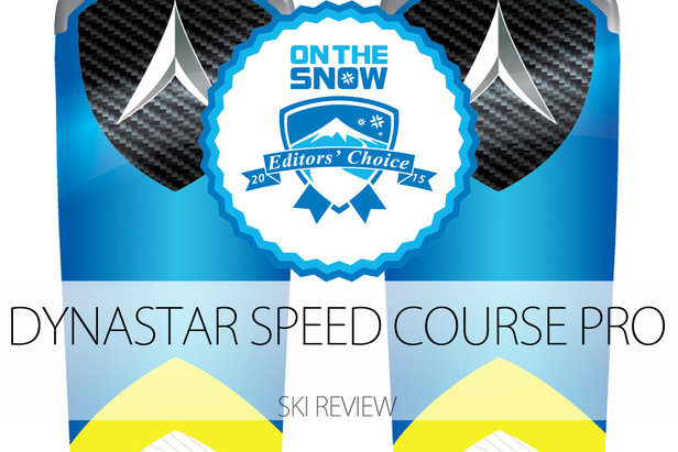 2015 Men's Frontside Editors' Choice Ski: Dynastar Speed Course Pro- ©Dynastar