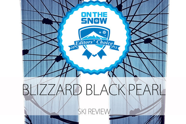 Blizzard Black Pearl, a 2015 Editors' Choice Women's All-Mountain Front Ski.