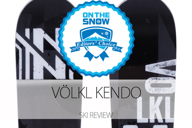 2015 Men's All-Mountain Front Editors' Choice Ski: Völkl Kendo- ©Völkl