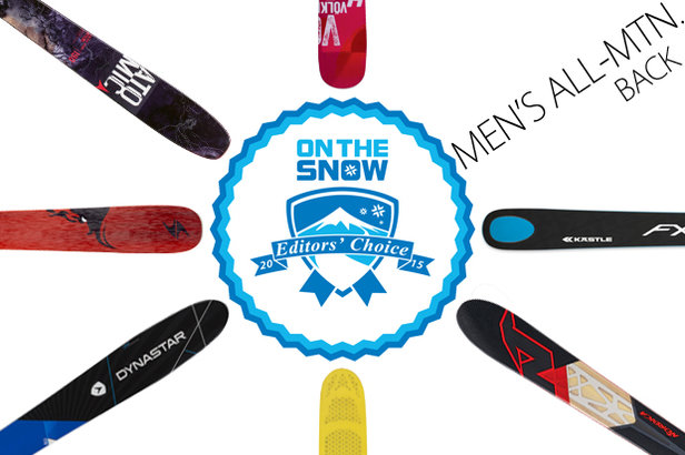 2015 Editors' Choice Men's All-Mountain Back Skis.