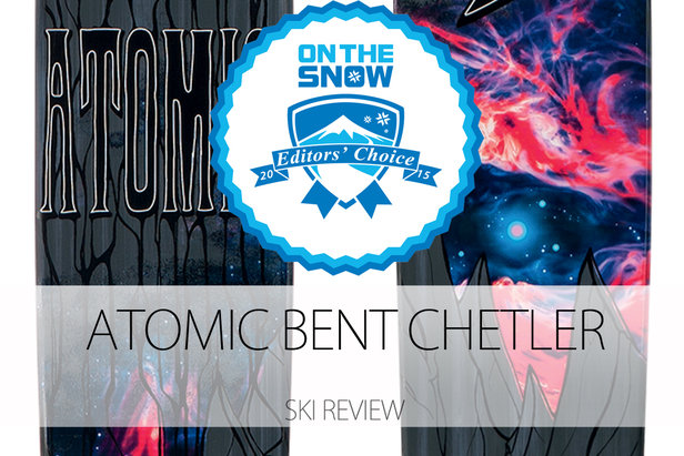2015 Men's Powder Editors' Choice Ski: Atomic Bent Chetler - ©Atomic