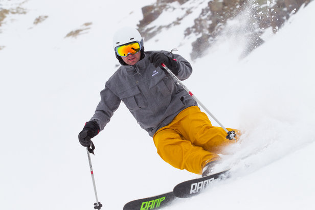 On-Snow Opinion: Eider Men's Red Square Jacket & Manhattan Pant ©Cody Downard Photography