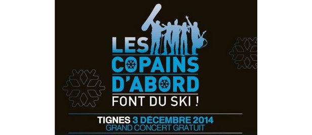Les Copains d'abord... font du ski !