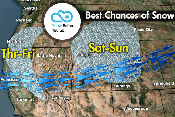 Snow Before You Go: Big Snow on Both Coasts- ©Meteorologist Chris Tomer