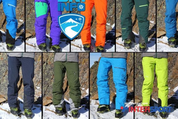 Devatero lyžařských kalhot v testu OnTheSnow- ©Skiinfo