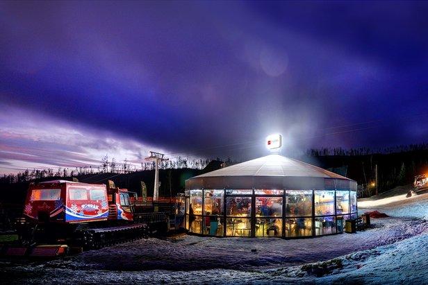 Tatrzańska Łomnica - Bar Apres-ski przy dolnej stacji wyciągu.  - © Marek Hajkovsky