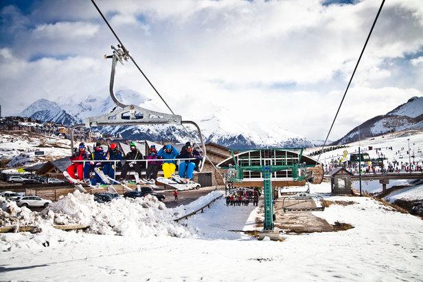 Embarquement... direction les pistes de ski de Formigal
