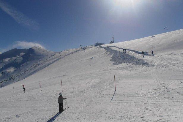 Trasy dla najbardziej doświadczonych narciarzy na Słowacji znajdują się we Vratnej na Chlebie.
