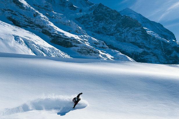 Freeride w regionie Jungfrau  - © Switzerland Tourism/Christof Sonderegger