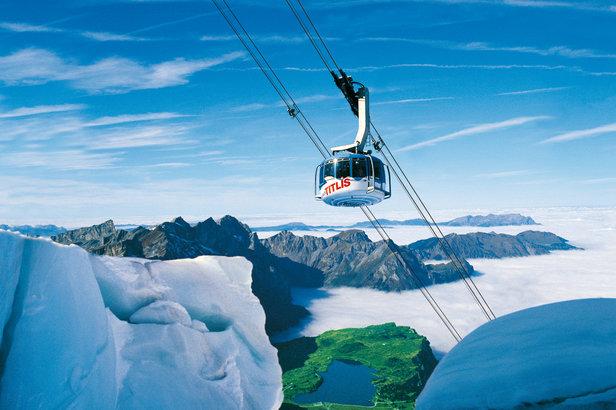 Engelberg ski en mai