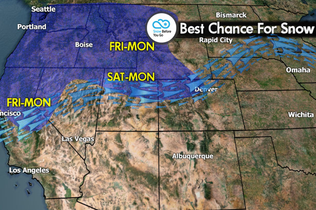Snow Before You Go: Feet of Fresh in the Forecast- ©Meteorologist Chris Tomer