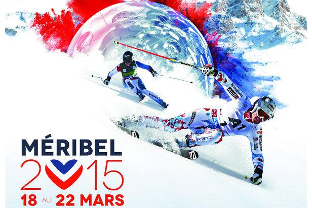 Affiche Finales de la coupe du Monde de ski alpin à Méribel