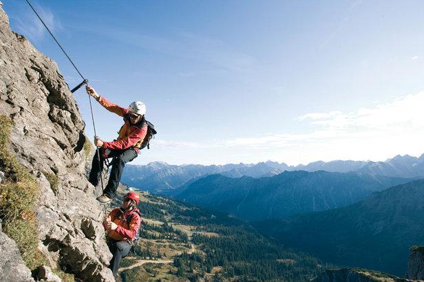 Klettersteig Kleinwalsertal : Klettersteig fans kommen im kleinwalsertal auf ihre kosten bergleben
