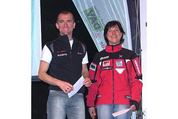 Deutsche Meister 2007 Vertical Race: Martin Echtler und Barbara Gruber