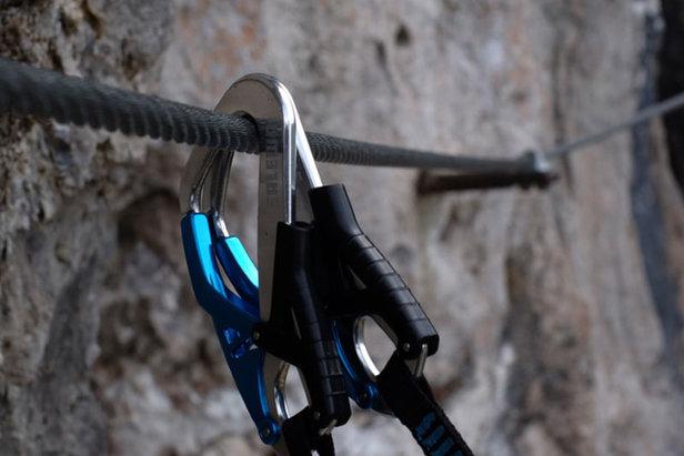 Klettersteig Set : Die richtige ausrüstung im klettersteig bergleben